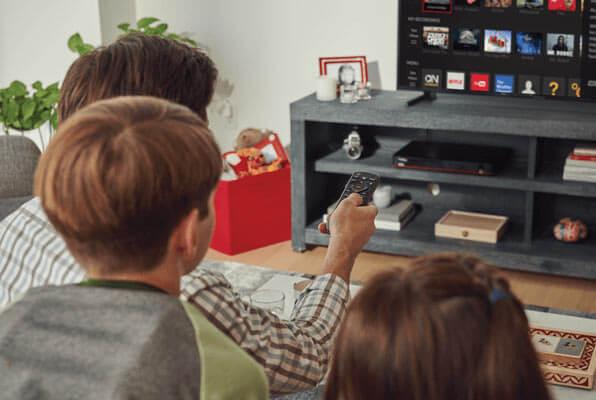 DISH | Hopper 3 | Amazon Alexa | Google Assistant | Voice Remote with Google Assistant | TV